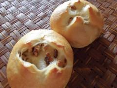 クリームチーズくるみパン
