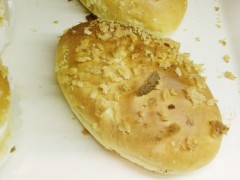 アップルパイ、クロワッサン、ピロシキ、焼きカレーパン、ピザッチャ、トマトとチェダーのバケット、くるみの玄米パン、モカ、フレンチトースト