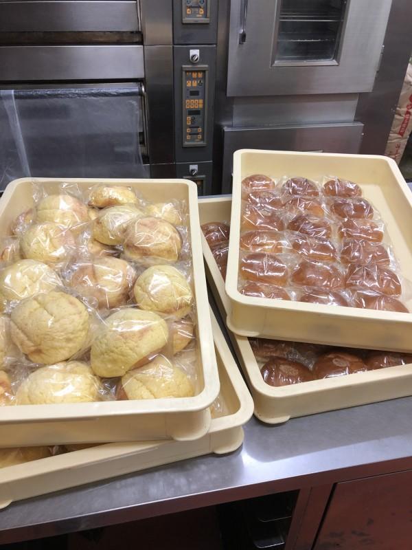 クラウンズのパン