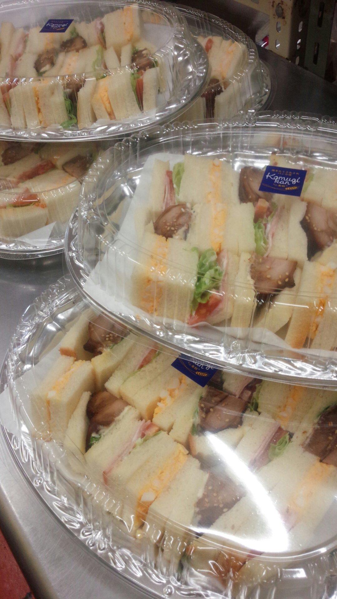 サンドイッチ大皿ご注文承り中!